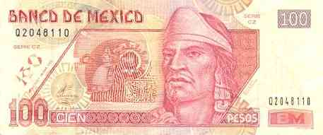 Mexican Pesos Bills Come In 20 50 100 200 500 And 1000 Denominations See Graphic The Newer S Are Actually Made Of Plastic Even Have A