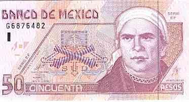 Acapulco, Mexico: Dollars and Pesos - 'Dinero'