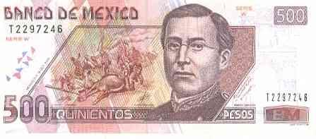 Acapulco Mexico Dollars And Pesos